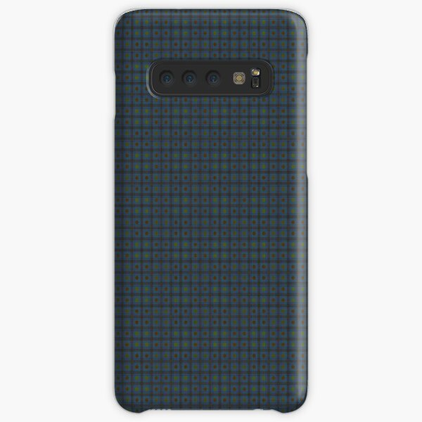 Squares & Dots in Blue Samsung Galaxy Snap Case