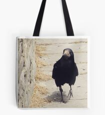 Casual Crow Tote Bag