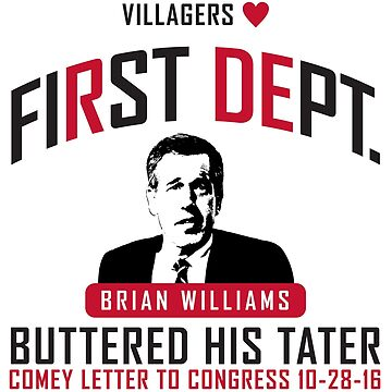 First Dept. Villagers Collection Brian Williams by FirstDept