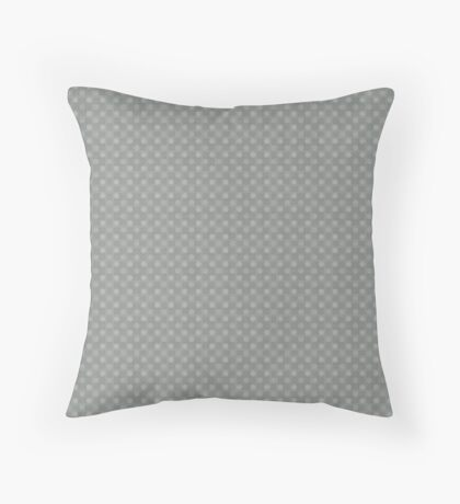 Muted Gray by Julie Everhart Throw Pillow
