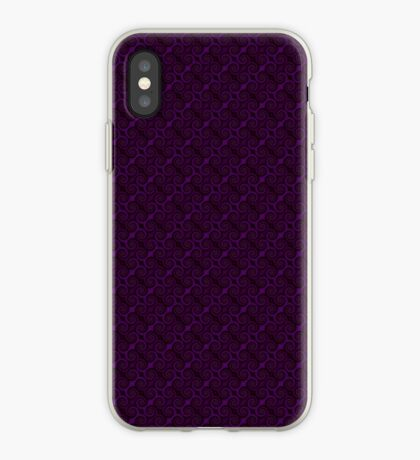 Purple Swirl by Julie Everhart iPhone Case