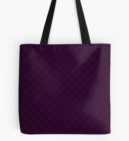 Purple Swirl by Julie Everhart Tote Bag