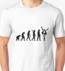 Human evolution of michael jackson T-Shirt