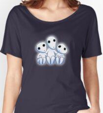 Tree Spirit Friends- Mononoke Women's Relaxed Fit T-Shirt