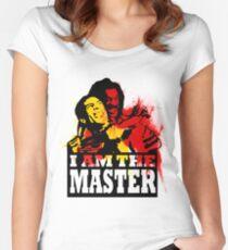Camiseta entallada de cuello redondo SOY EL MAESTRO