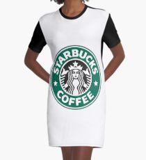 Starbucks coffee logo Graphic T-Shirt Dress