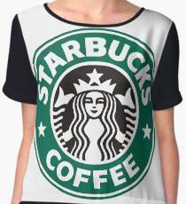 Starbucks coffee logo Chiffon Top