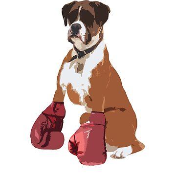 Boxer Dog by jesselego