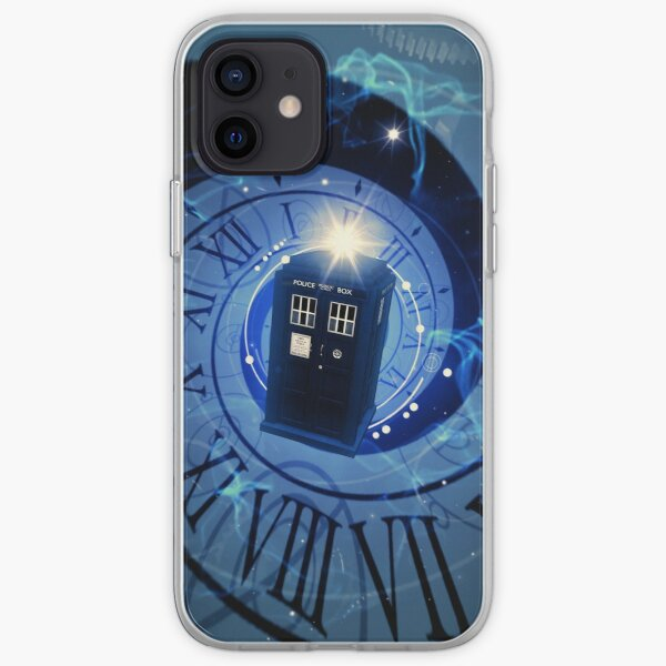 Police Box Time Travel iPhone Soft Case
