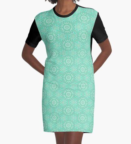 Seafoam Green Splendor by Julie Everhart Graphic T-Shirt Dress