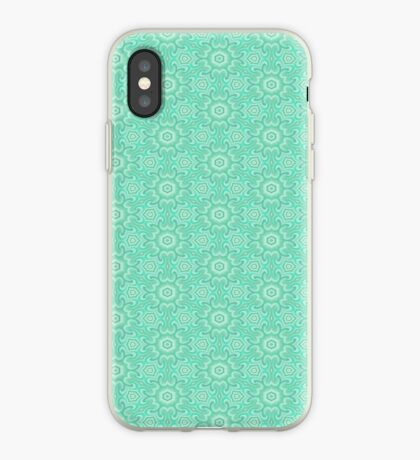 Seafoam Green Splendor by Julie Everhart iPhone Case