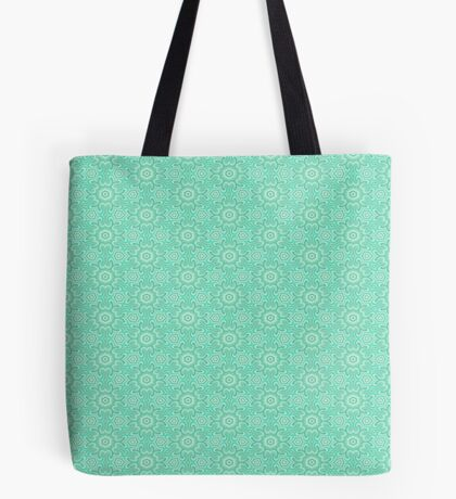 Seafoam Green Splendor by Julie Everhart Tote Bag