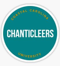 Coastal Carolina University - Style 20 Sticker