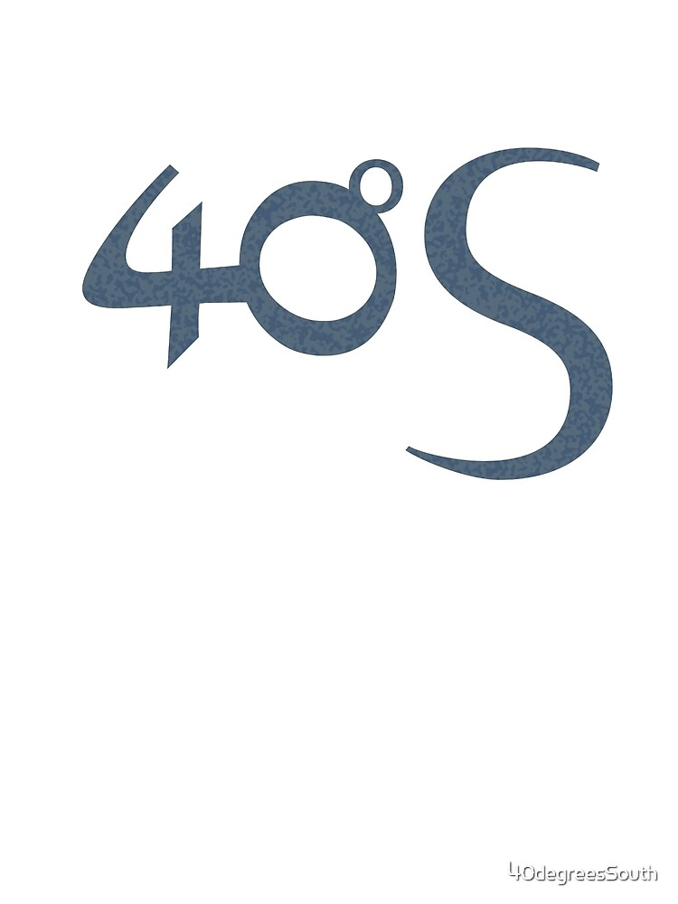Fourty Degrees South logotype  by 40degreesSouth