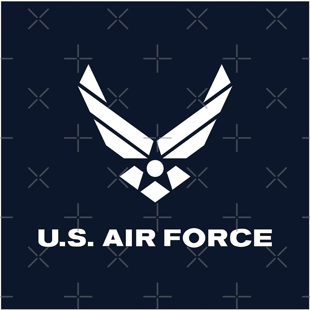 United States Air Force, US Air Force, Complete Logo by AnnabelsBelongs