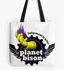 Planet Bison Fitness Tote Bag