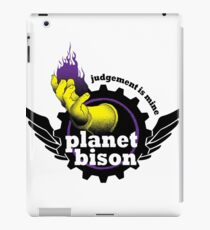 Planet Bison Fitness iPad Case/Skin