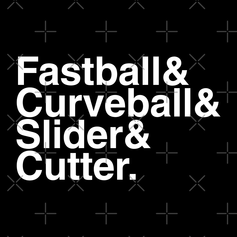 Fastball & Curveball & Slider & Cutter. by thedline