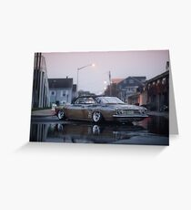 Johns Corvair Greeting Card