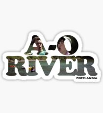 A-O RIVER Sticker