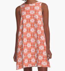 Crosshairs A-Line Dress