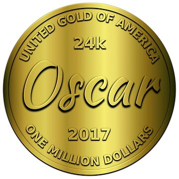 Oscar is 24k gold by jshek8188