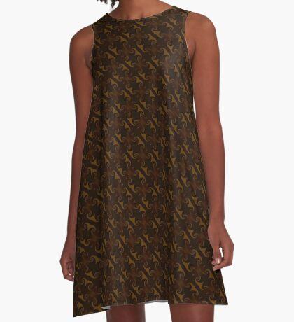 Rich Brown by Julie Everhart A-Line Dress