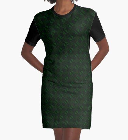 Hunter Green Design by Julie Everhart Graphic T-Shirt Dress
