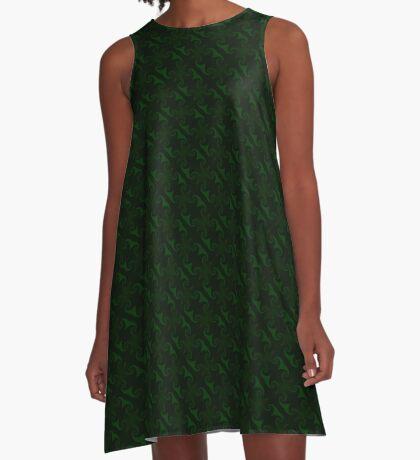 Hunter Green Design by Julie Everhart A-Line Dress