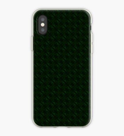 Hunter Green Design by Julie Everhart iPhone Case