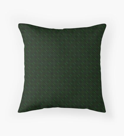 Hunter Green Design by Julie Everhart Throw Pillow