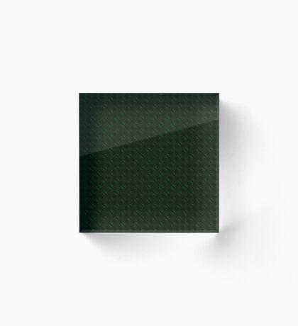 Hunter Green Design by Julie Everhart Acrylic Block