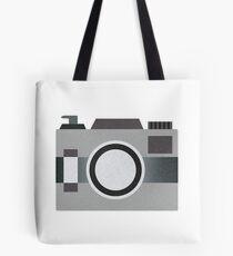 Retro Old-time Camera, Gray Tote Bag