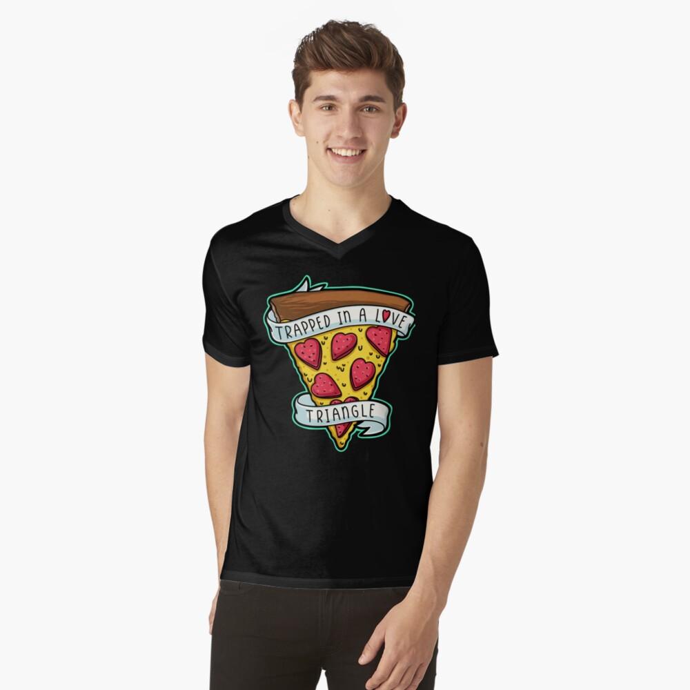 Trapped V-Neck T-Shirt