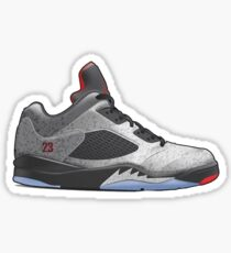 Air Jordan V Low Vector Sticker Sticker