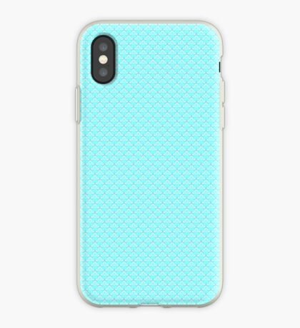 Aqua Blue iPhone Case