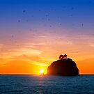 Sunset at First Beach - La Push .3 by Alex Preiss