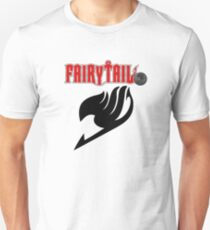 Fairy Tail (Black and Red) Unisex T-Shirt