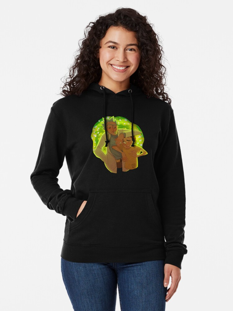 Alternate view of Rick and Morty Lightweight Hoodie