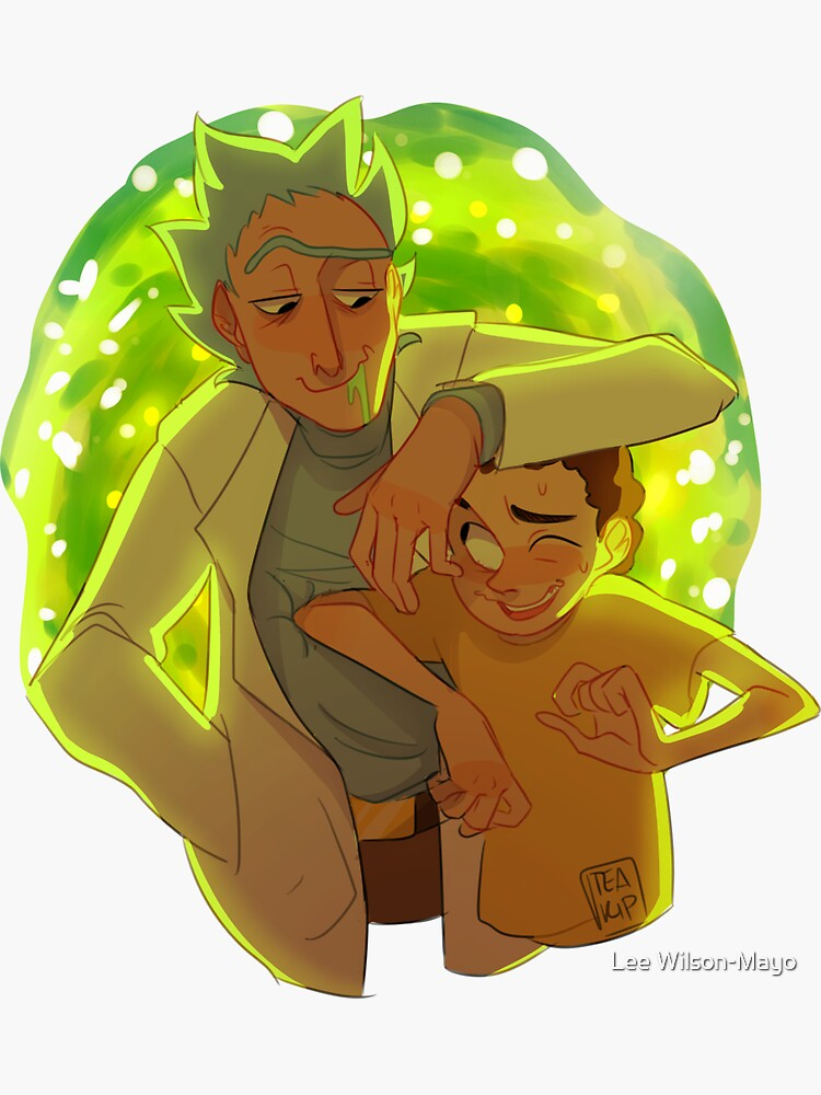 Rick and Morty by teaguts