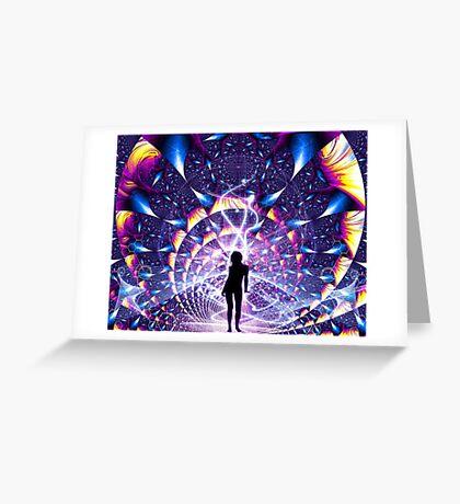 Earthing Transformation  Greeting Card