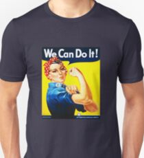 We Can Do It! (1943) - US Wartime Propaganda Poster Unisex T-Shirt