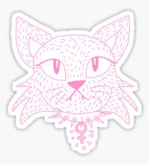 Feminist Cat Sticker