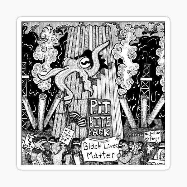 P.I.T. Bite Back EP Cover Sticker