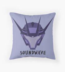 Prime Soundwave Throw Pillow