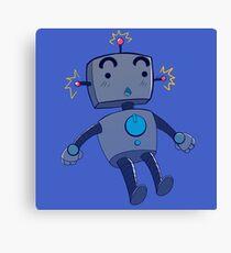 robot!!! Canvas Print
