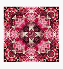 Crystal Matrix Mandala Photographic Print