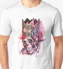 Ink Skull Unisex T-Shirt
