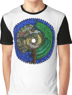 Tree Saw Blade (saw blade #3) Graphic T-Shirt