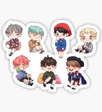 Forever Young - All Members  Sticker